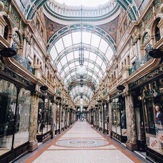 Le charmant Victoria Quarter de Leeds : | 20 endroits de Grande-Bretagne qui ont pratiquement été créés pour Instagram
