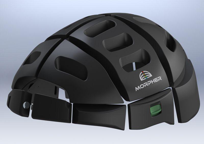 Morpher Folding Helmet Technology Bike Helmet Foldable Bikes
