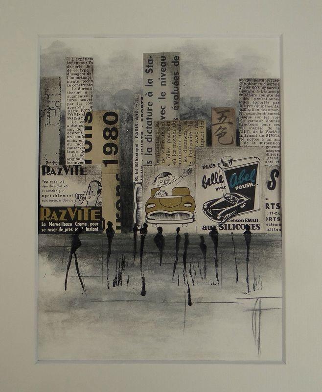 Linogravure Les Oeuvres Artiste Plasticien Et Collages
