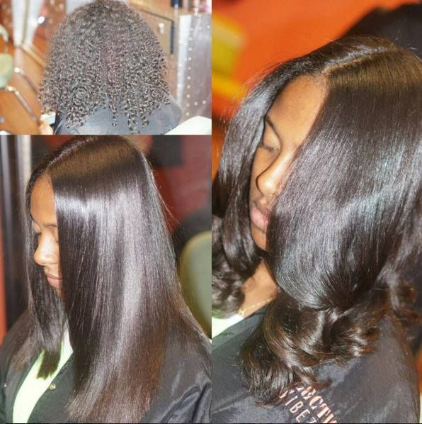 5 Ways To Make Your Straight Natural Hair Last Longer Without Reverting Natural Hair Rul Flat Iron Hair Styles Straight Hairstyles Straightening Natural Hair