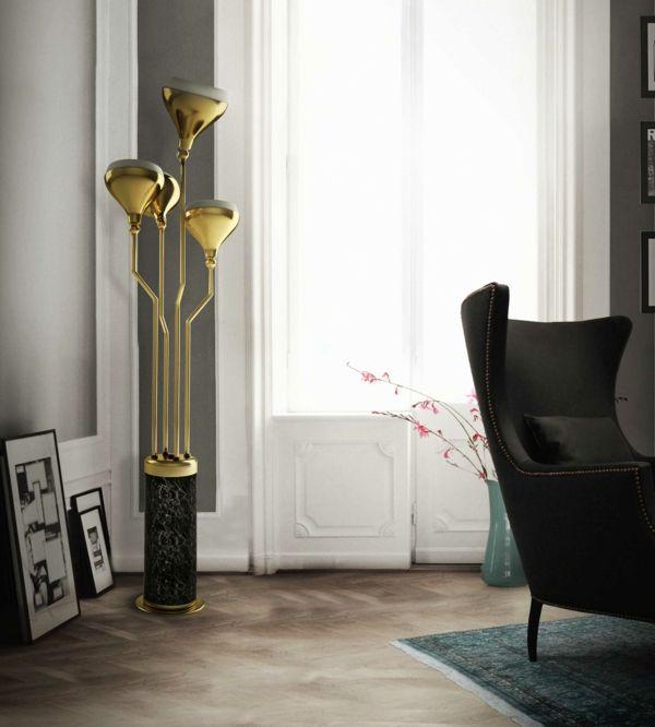 luxuriöse stehlampe design wohnzimmer Leuchten Pinterest - wohnzimmer design leuchten