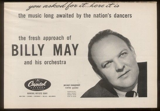 Billy May, 1916 - 2004. 87. composer.