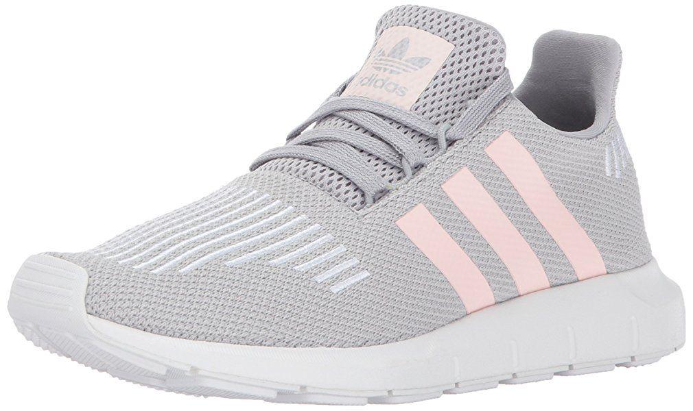 5c3cd63658fcd Amazon.com | adidas Originals Women's Swift W Running-Shoes, Grey ...