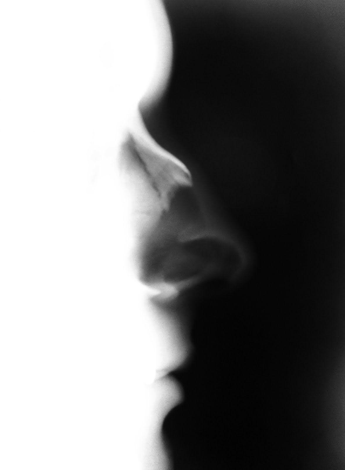 Radiografía de la cabeza de perfil, específica para los huesos ...
