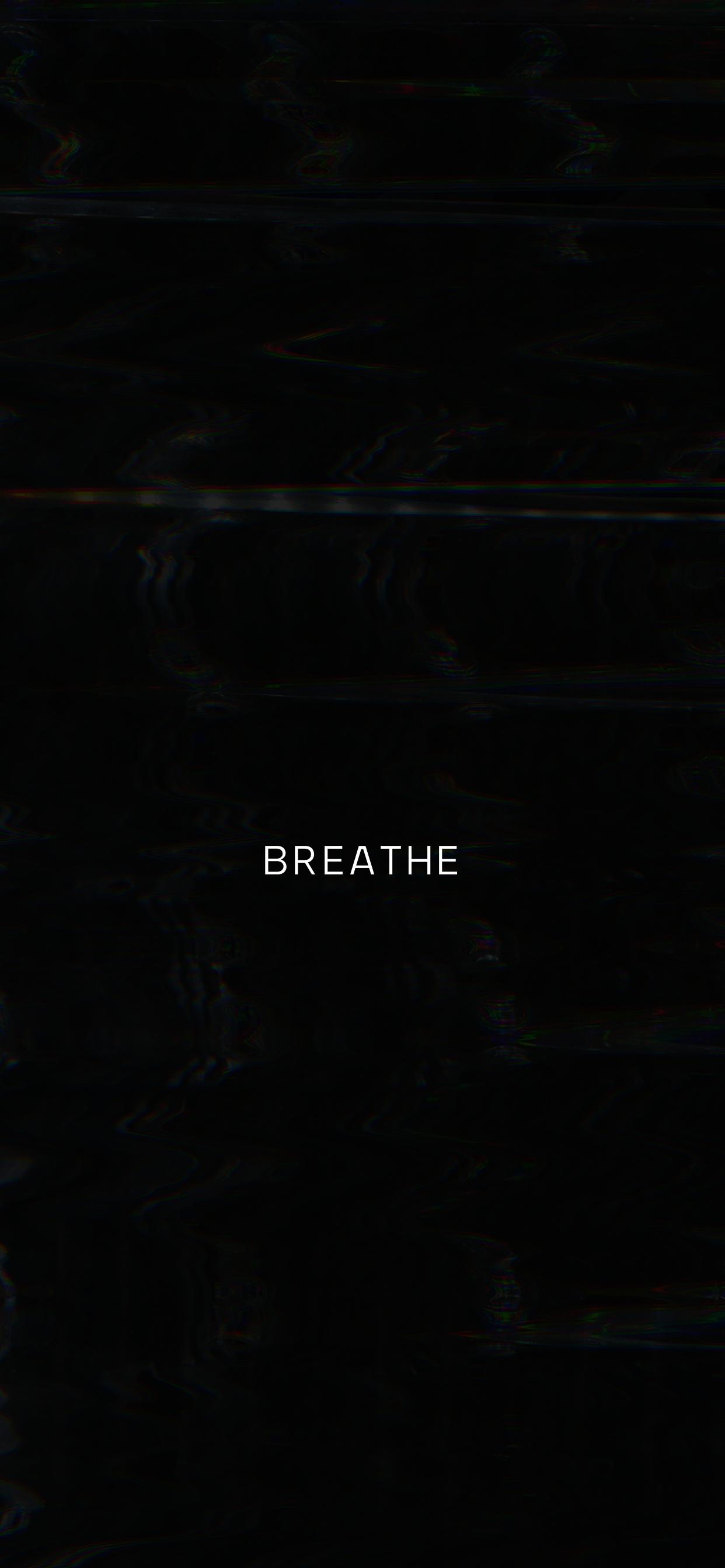 Breathe Wallpaper Black Aesthetic Wallpaper Aesthetic Pastel Wallpaper Dark Wallpaper