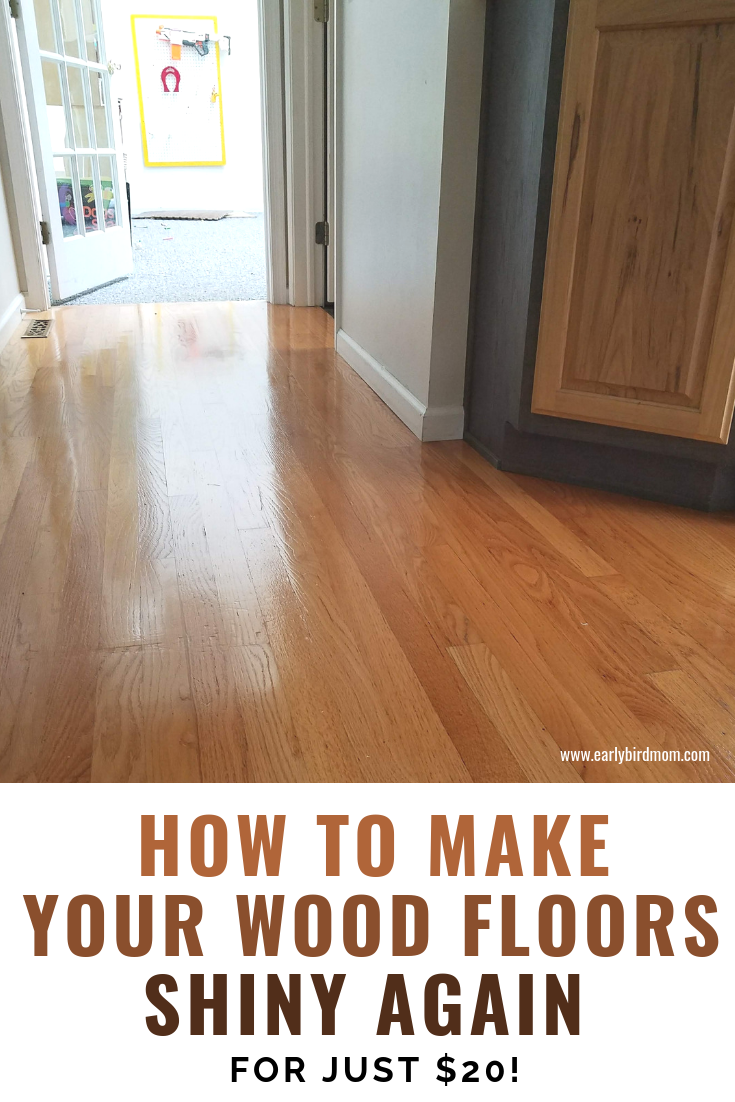 How To Make Your Wood Floors Shiny Again For Just 20 Flooring
