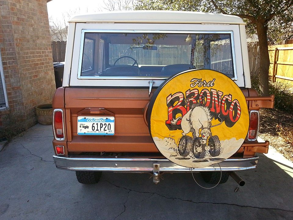 I love (but can't find) this vintage Ford Bronco tire ...