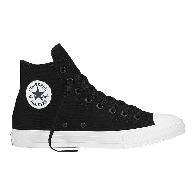 """The Converse CT II HI Women's Casual Shoe retains the iconic Chuck Taylor All Star silhouette you know and love, but is built for more in order to better meet the demands of your """"on the go"""" lifestyle."""