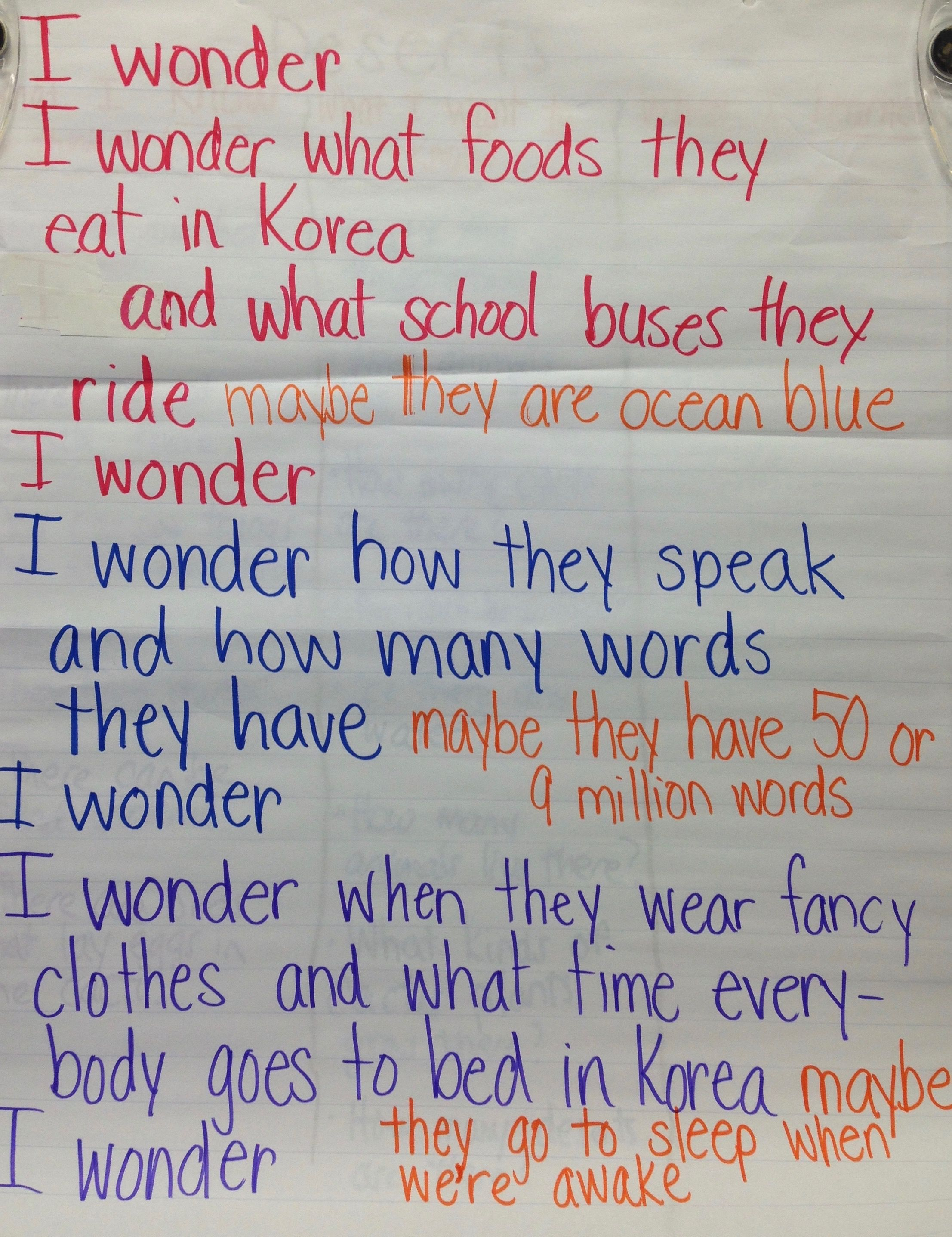 A Poetry Collaboration As We Co Teach How To Write I