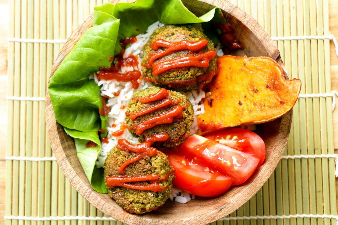Baked Veggie Balls The Buddhist Chef Recipes Healthy Recipes Food Processor Recipes