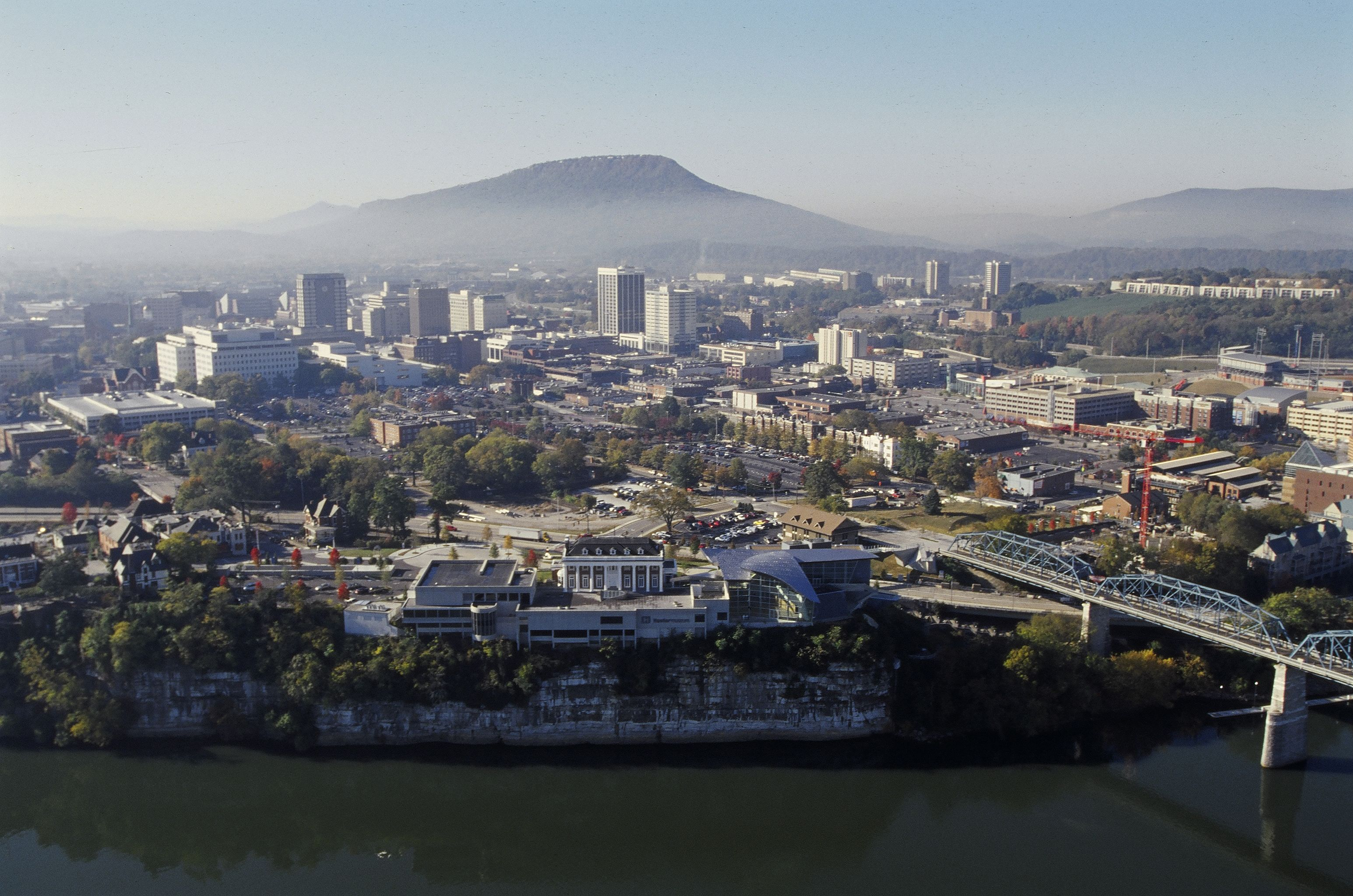 An aerial view of our town, Chattanooga, TN | Favorite