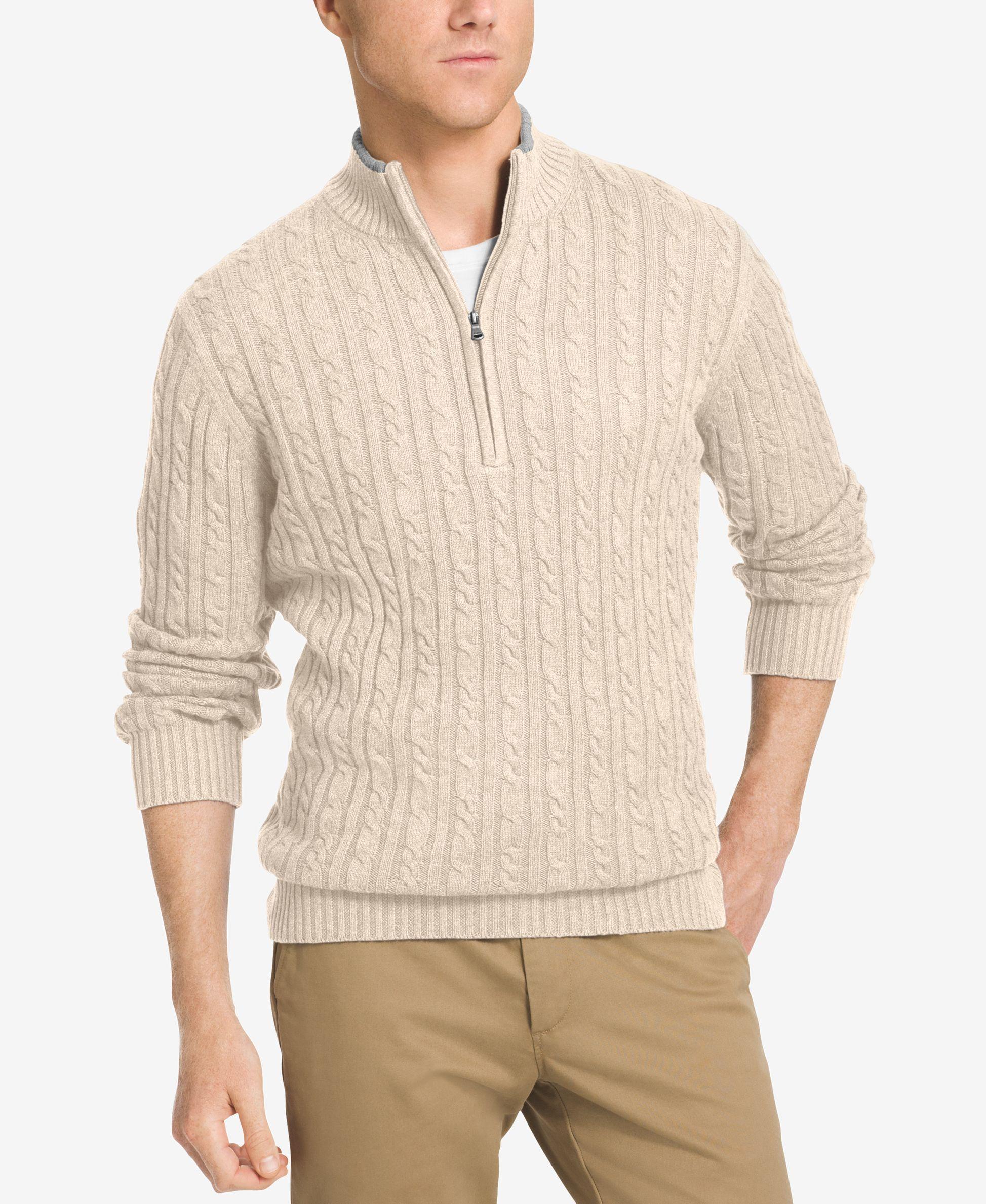 Izod Men's Big & Tall Mock Turtleneck Sweater | Products ...