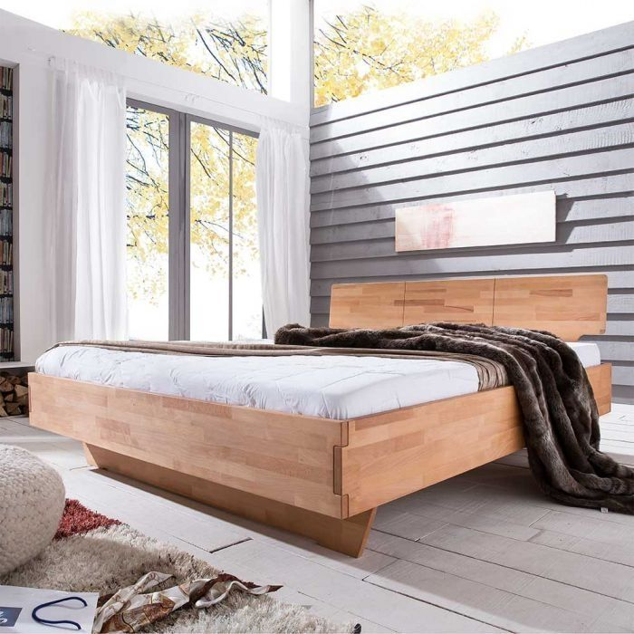Bett Deutlich Entdecken Gibt Komforthohe Massivholz