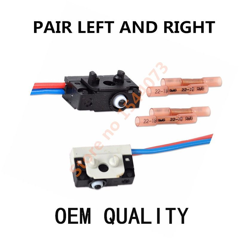Oem Pair Left And Right Door Lock Micro Switch For Vw
