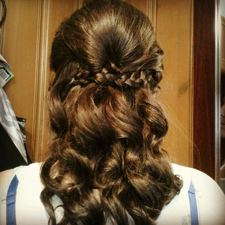 Ceremony Hair Pinned Perfect Nurse Hairstyles Braids With Curls Wedding Hairstyles