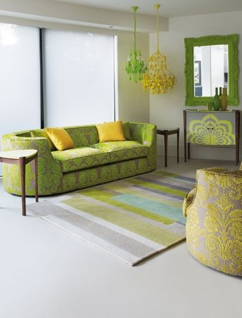 Interior Green With Yellow Gold And Light Turquoise Green Living Room Decor Living Room Green Yellow Living Room