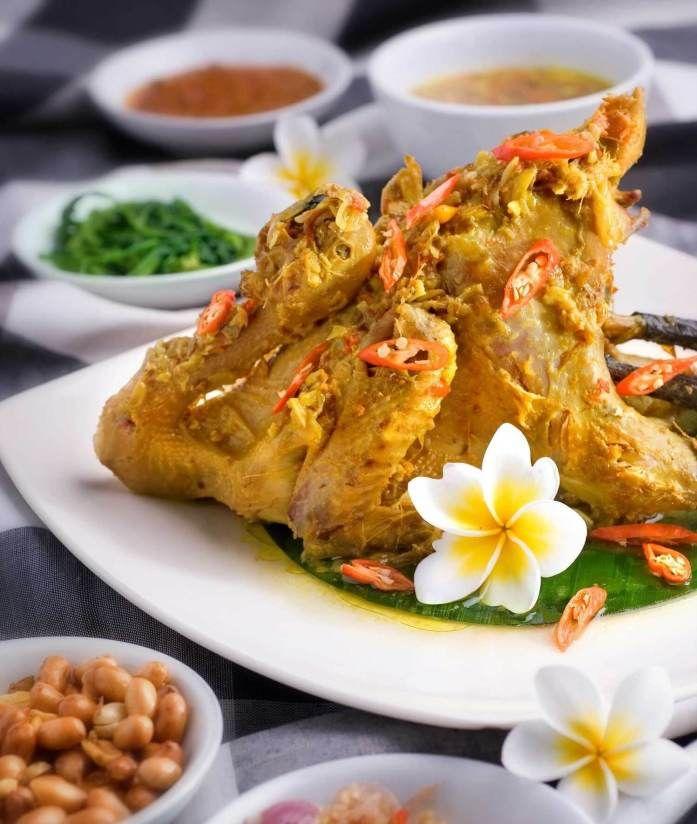 Ayam Betutu Khas Bali Resep Ayam Masakan Indonesia Resep Masakan