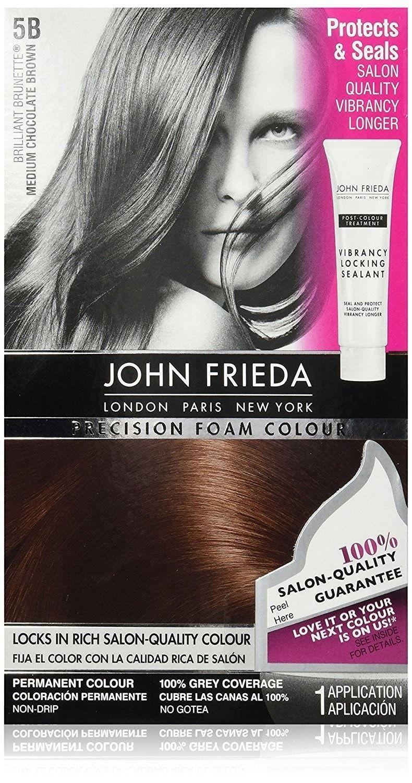 John Frieda Precision Foam Colour Medium Chocolate Brown B
