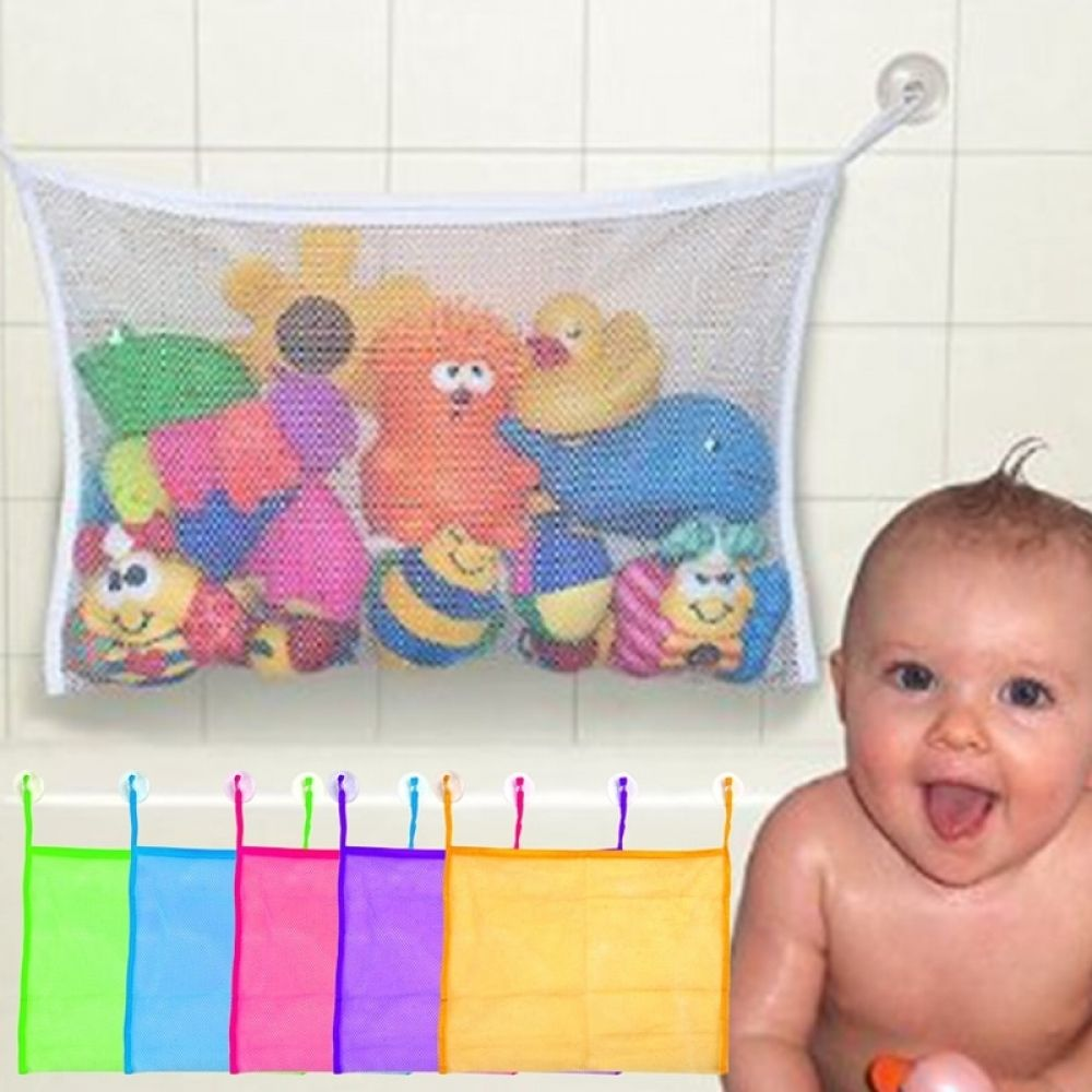Kids Bath Bathtub Toy Mesh Net Container Bag Organizer