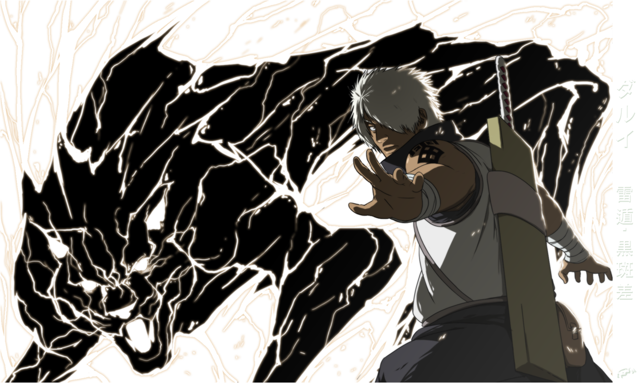 Darui S Black Lightning By Artipelago On Deviantart Black Anime Characters Black Lightning Naruto Fan Art