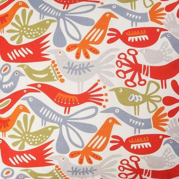 Incredible Klippan Bird Swedish Fabric Contemporary Upholstery Fabric Largest Home Design Picture Inspirations Pitcheantrous