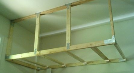 Save Money On Overhead Garage Storage