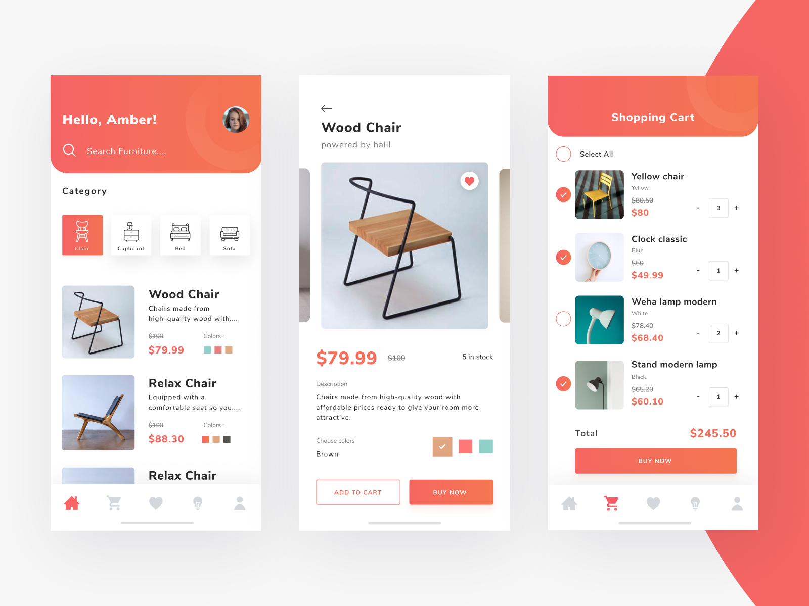 Furniture App Mobile Furniture App App Design Design
