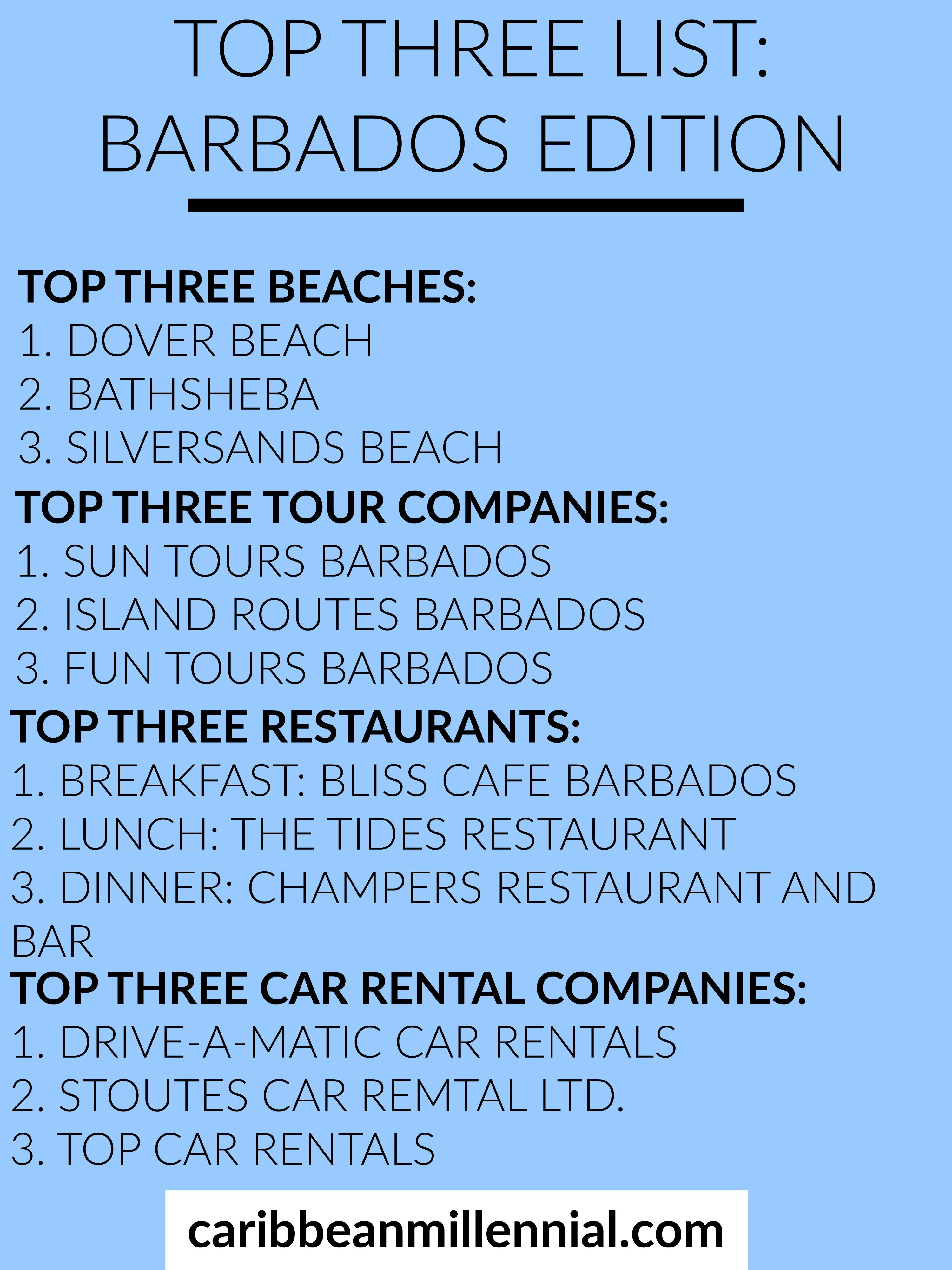 Things To Know Before Going To Barbados Visiting Barbados - 10 things to see and do in barbados