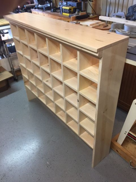 Shoe Cubby Mail Sorter Style Reader Update On