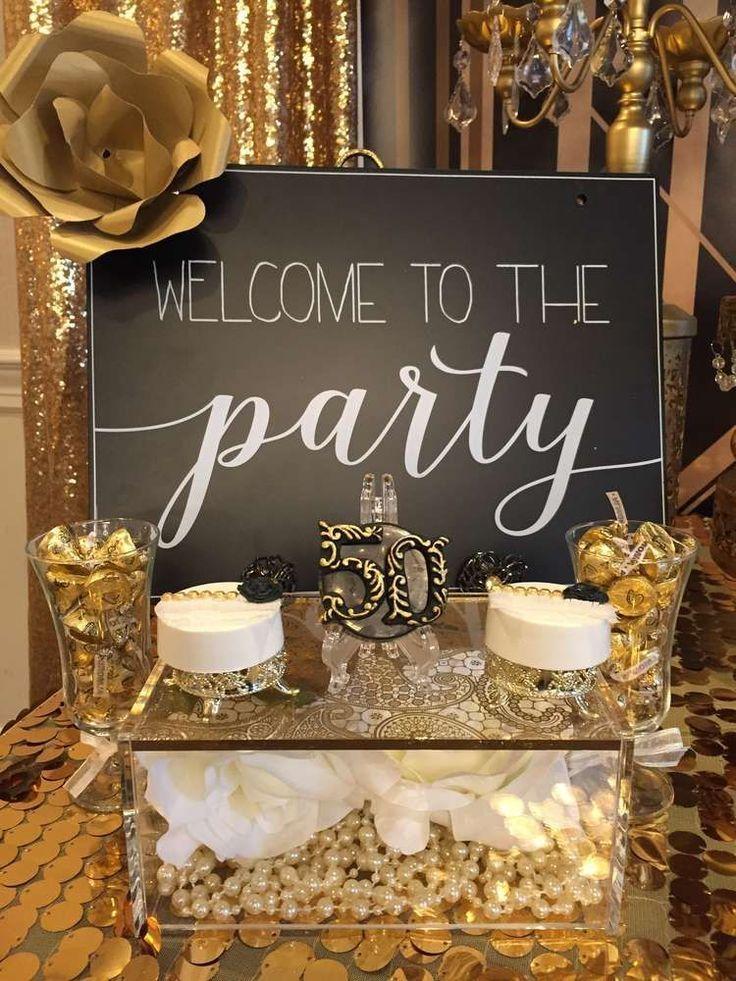 Große Gatsby Geburtstagsfeier-Ideen - #20s #Gatsby #GeburtstagsfeierIdeen #große #50thbirthdaypartydecorations