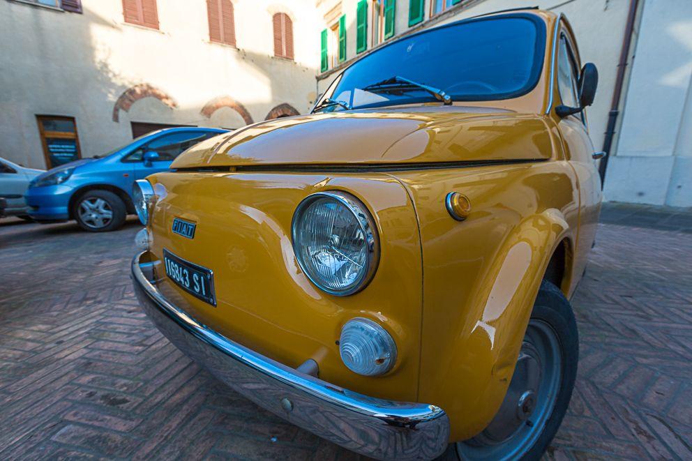 Fiat 500 von Feldschütze