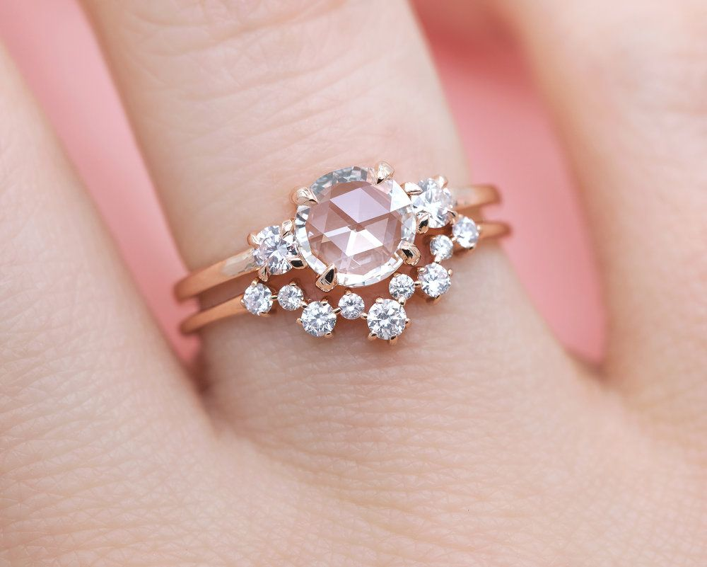 The Stella Rose Cut Diamond Ring | Ring, Jewel and Bling