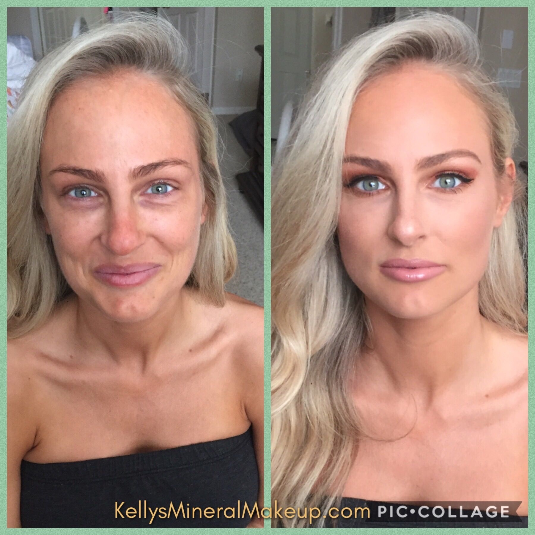 Younique Makeup Before And After Flawless Four Younique