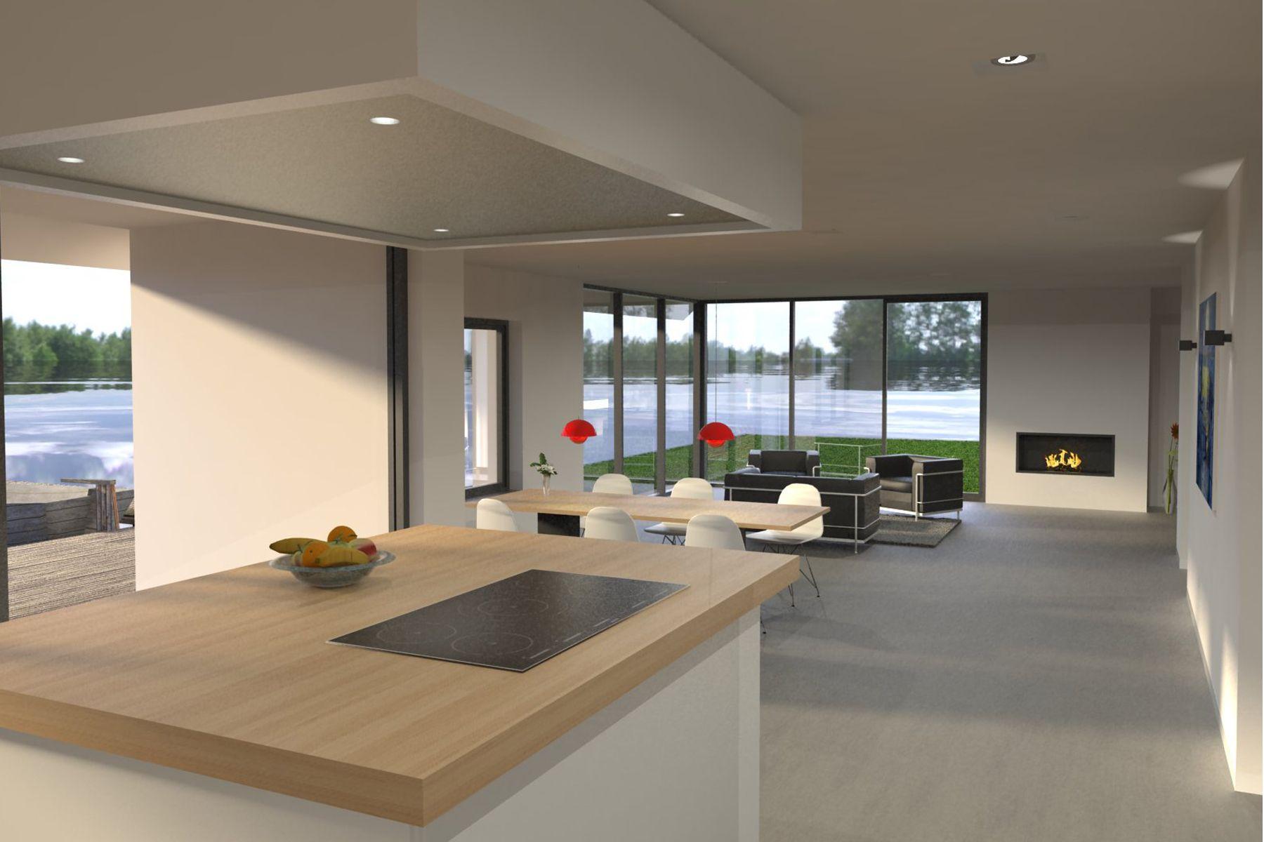 Moderne architect modern huis in loosdrecht bnla keukens