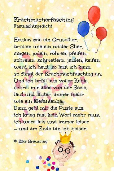 krachmacherfasching  winterzeit  gedichte für kinder