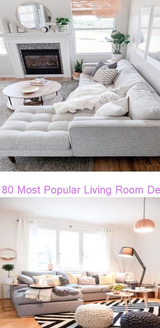 80 Most Popular Living Room Decor Ideas - Trends on Pinterest You Can-t Miss…