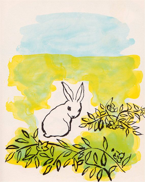 """The Bunny Who Found Easter"" by Charlotte Zolotow, illustrated by Betty Peterson, via Etsy."