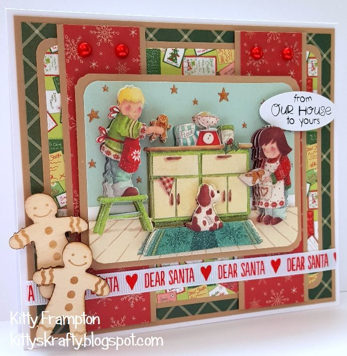 Making Cards Magazine Part - 29: Made For Making Cards Magazine Using Trimcraft Dear Santa Collection.