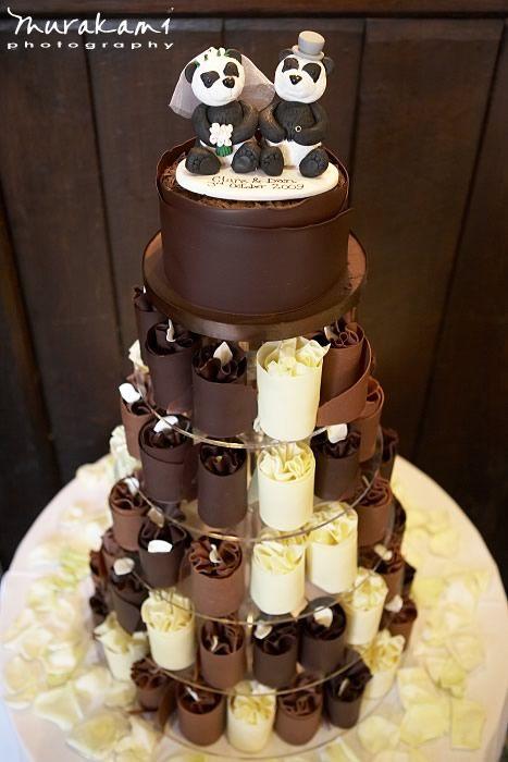 wedding cakes chocolate Wedding Inspirations Pinterest