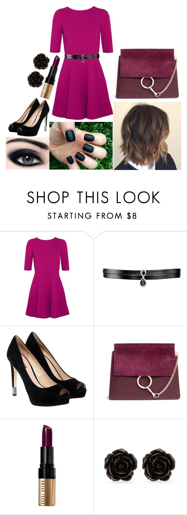 """Elizabeth: October 12, 2016"" by disneyfreaks39 ❤ liked on Polyvore featuring Dolce&Gabbana, Fallon, GUESS, Chloé, Bobbi Brown Cosmetics and Erica Lyons"