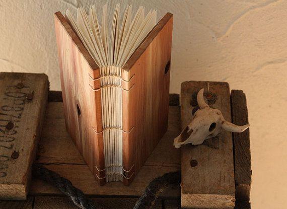 Aromatic Cedar Wood Journal by Boarding School (bindery + woodcraft) https://www.etsy.com/shop/boardingschool