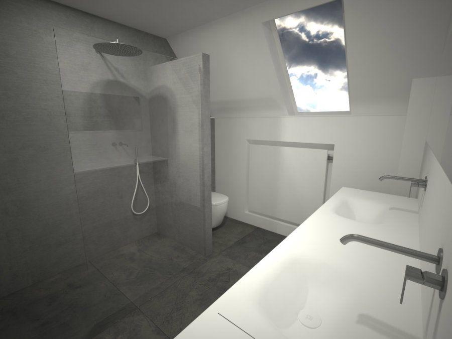 Een badkamer onder een schuin dak? Dat vraagt om creatieve ...