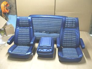 73 74 75 76 77 78 79 Ford Truck Bronco Seats Captain Chair F150 F250 F350 Pickup