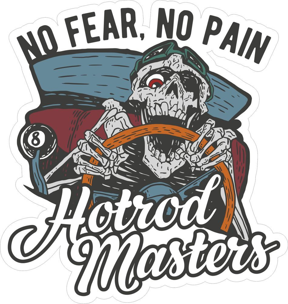 Hotrod master sticker free t shirt design shirt designs free stickers car stickers