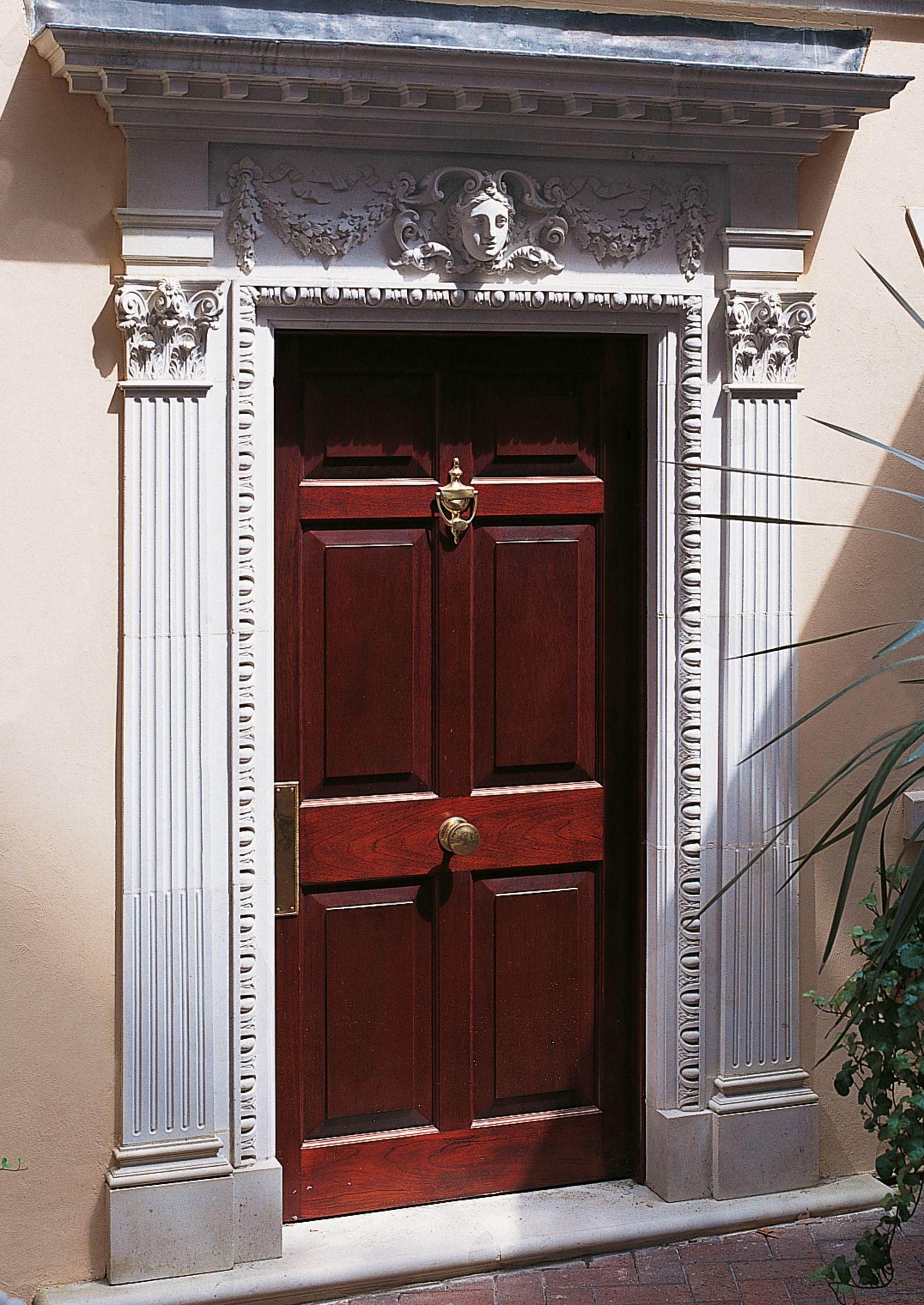 William Kent Door Surround Without Pediment Best Front Doors Front Door Design Door Molding