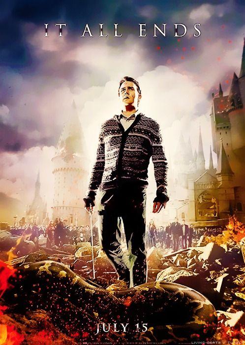Neville Affiche Harry Potter Et Les Reliques De La Mort Partie 2 Harry Potter Movies Harry Potter Love Harry Potter Films