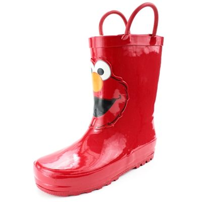 Sesame Street Elmo Toddler Rain Boots | Toddlers, Rain and Sesame ...