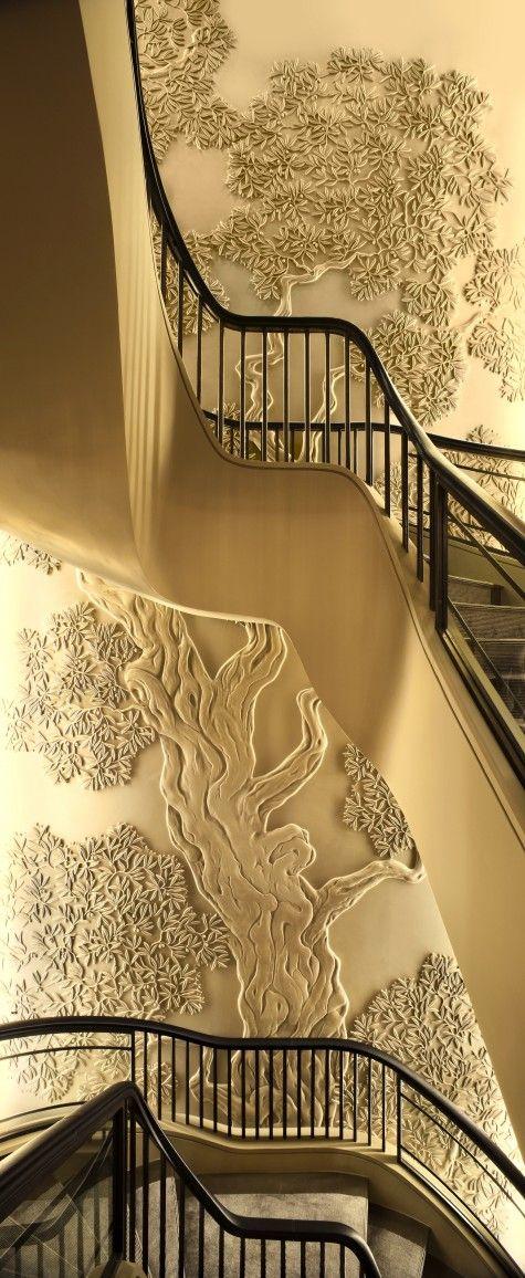 plaster Bas-Relief wall - Поиск в Google Matiere Pinterest