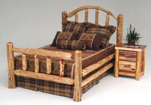 Lodge Style Bedroom Furniture: Log Cabin Style Furniture