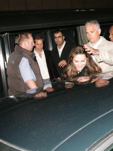 Kate Middleton - Prince William and Kate Middleton at Boujis Nightclub